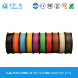 PLA/ABS Eco-Friendly 1.75mm 3D Printer Filament with Multi-Colors 1kg/Spool