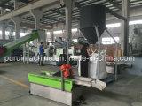 PP Film Plastic Granulating Machine with Single Screw Die Cutting
