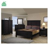 Antique New Design Bedroom Furniture Wooden Bed Selling