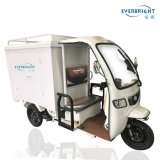 3 Wheel Electric Closed Cargo Tricycle with Cabin