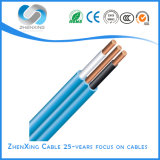 Flat Twin and Earth Cable Connecting Flexible Copper Electrical Wire