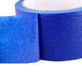 China Factory Wholesale Cheap Blue Colored Painting Automotive Decorative Crepe Paper Masking Tape