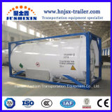Jsxt 20FT T75 Shipping Liquid Cryogenic Pressure Portable Storage ISO LNG/Lar/Lin/Lox/N2o/Hydrogen/Methane/Ethylene Stainless Steel Tank Container with Cryopump