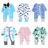 Boutique Kids Rompers Onesie Floral Print Soft Newborn Baby Clothes