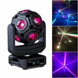 12*15W 4in1 RGBW Football LED Moving Head Light/Stage Effect Light/DMX512 DJ Disco Lighting