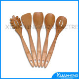 Flat Wooden Spoon for Cooking