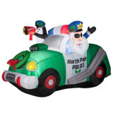 Inflatable Xmas Car Party Decoration Display