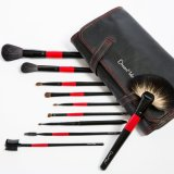 22PCS Animal Hair Custom Makeup Brush with Black Pouch
