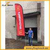 4.5m Tradeshow Aluminium Digital Printing Feather Flag/Flying Flag/Beach Flag