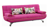 Love Seat Lying Sofabed with Movable Armrests