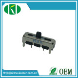 Jiangsu A20k Volume Control Slide Potentiometer with Plastic Lever Wh1001