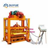 Qtj4-40 Manual Interlocking Making Machine, Block Making Machine in Ethiopia, Brick Moulding Machines Prices, Cheap Block Machine