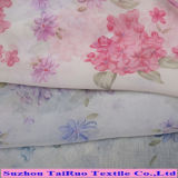 100% Poly Printed Chiffon for Lady Dress Fabric