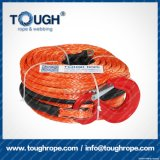 Orange10.5mmx30m4X4 Synthetic Winch Rope Tough Rope 100% Uhwmpe Fiber