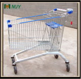 275 Liters Big Shopping Cart with Two Baby Seat Mjy-275b