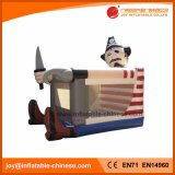 Popular Pirate Inflatable Belly Jumper Bouncer (T1-703)