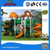 Kidsplayplay Kids Games with Plastic Slide for Sale Robot Series Outdoor Playground
