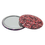 Small Cheap Tin Pocket Mirror Round for Promotion Gifts