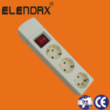3-Way European Extension Power Strip with Earth (E9003ES)