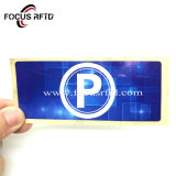 RFID Anti-Transfer Detachable Fragile Paper Glass Stickers Electronic Tag RFID Windshield Label