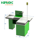Retail Store Checkout Cashier Counter with Lamp