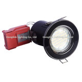 Black Chrome 5W COB/SMD Fire Rated LED Downlight for Recessed Ceiling