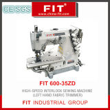 Fit600-35zd High Speed Interlock Sewing Machine (left hand fabric trimmer)