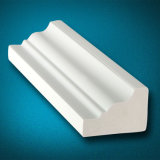 Waterproof White PVC Trim for Home Decoration