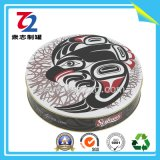 Round Chocolate Biscuit Tins for Metal Gift