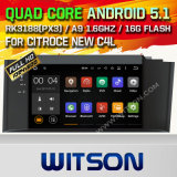 Witson Android 5.1 Car DVD GPS for Citroce New C4l