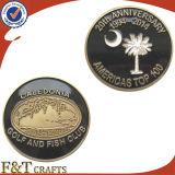 Personalized Double Die Cast Wholesale Cheap Custom Coins (FTCN1980A)