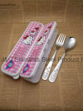 Spoon and Fork Gift Box Set/ Children Cutlery Set with Gift Box