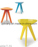 Fashion Style Wooden Side Tea Table Color Coffee Table (T-91)