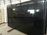 Cheap Chinese Shanxi Black Plain Black Granite Slabs for Countertop, Floor Tile, Steps, Monument