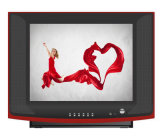 17 Inch Pure Flat Screen CRT Television Color CRT TV