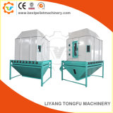 Turn-Plate Swing Wood Feed Pellets Cooling Machine Manufactures