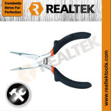 Nickel-Planted Mini Nose Nose Pliers with Raised Shoulder