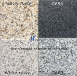 G603/G654/G664/Rusty Yellow White Grey Black Natural Granite/Marble Tile