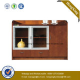 Al-Alloy Frame White Shaker Ready Made China Cabinet (HX-LC2237)