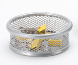 Office Desk Stationery Items/ Metal Mesh Stationery Pencil Holder/ Office Desk Accessories