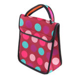 Printed Neoprene Lunch Tote Bag