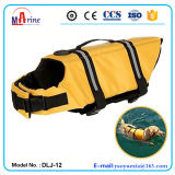 Yellow Color Nylon Fabric Pet Life Vest