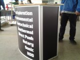 Gear Style Promotion Counter Table