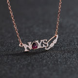 Fashion Beautiful Letter Necklace Wholesale Customized Charming Choker Necklace