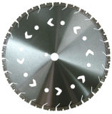 Laser Welded Diamond Circular Saw Blade for Concrete / Reinforced Concrete