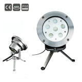 Factory Price Submersible DMX RGBW Stainless Steel IP68 6W Underwater LED Swimming Pool Light