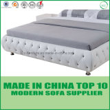 Modern Home Leisure Genuine Leather Double Bed