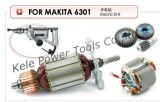 Armature, Stator, Gear Sets for Power Tools 6301