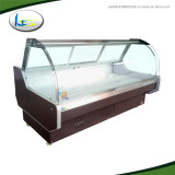 Low Loss Hotel Equipment Refrigerating Installation Meat Case Display