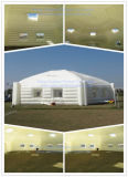 Outdoor Huge White Hexagon Inflatable Marquee Party Exhibition Advertising Tent